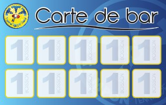 barre de carte